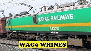 getlinkyoutube.com-Most Powerful Loco WAG9 Whines Saktigarh