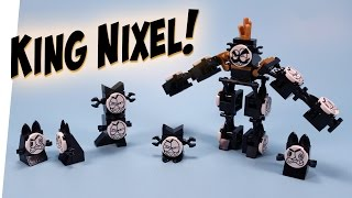 getlinkyoutube.com-LEGO Mixels King Nixel Congregated Combiner Build Instructions Review
