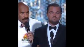 getlinkyoutube.com-Leonardo DiCaprio Was Not The Oscar Winner - Steve Harvey
