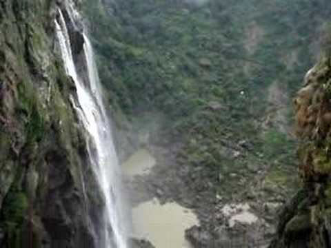 FANTASTIC TOP VIEW OF JOG FALLS..