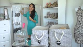 getlinkyoutube.com-Storage Ideas for Shoes & Purses : Fashion & Style Tips