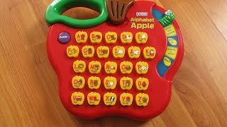 getlinkyoutube.com-VTech Alphabet Apple Educational Toy