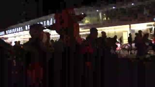 EN DIRECT de la manifestation nocturne - 31 octobre 2014