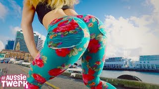 Jason Derulo Swalla | Twerk Freestyle in Auckland, New Zealand by DHQ Kris Moskov aka KrisMos