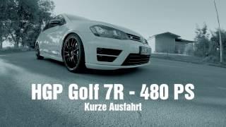 getlinkyoutube.com-HGP Golf 7 R - 2.0 TSI - 480 PS - TestRun/ TestDrive [POV Style] - incl. Highspeed