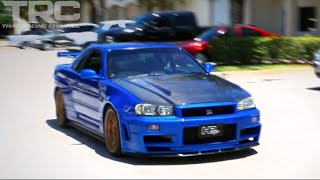 Skyline R34 Godzilla ride along - Amazing Sounds!