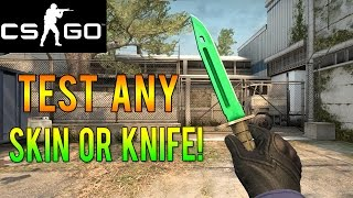 getlinkyoutube.com-CS GO - How to Test Out Any Rare Skin or Knife for Free!
