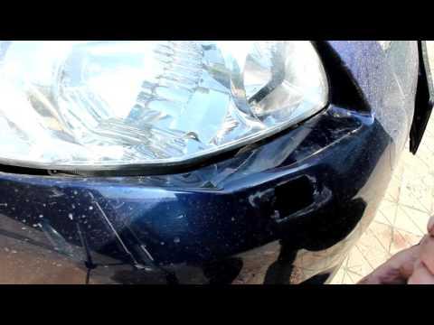 Демонтаж омывателя фар и замена уплотнительной резинки ТОЙОТА COROLLA Е150.