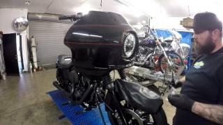getlinkyoutube.com-2014 Harley Dyna Low Rider Build FXRD Faring @ Mainstreet Motorcycles
