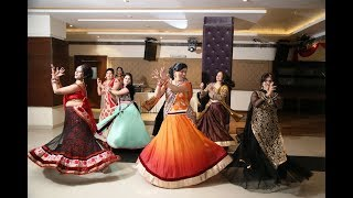 getlinkyoutube.com-Wedding Dance By Bride Aunties | Indian Sangeet Ceremony