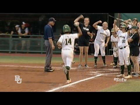 Baylor Softball:  Highlights vs OSU - Double Header