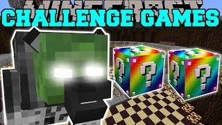 getlinkyoutube.com-Minecraft: WEREGHAVIL CHALLENGE GAMES - Lucky Block Mod - Modded Mini-Game