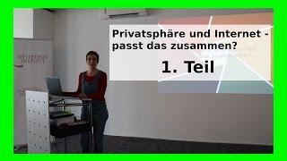 getlinkyoutube.com-Teil 1 Privatsphäre und Internet Passt das zusammen? Vortrag 18.02.2017 CryptoParty Datenschutz WLBI