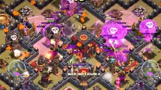 getlinkyoutube.com-Clash of Clans New attack strategy lava and balloon no Minion 3 stars