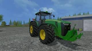 getlinkyoutube.com-John Deere 8370R Beast Mod review (FS15)