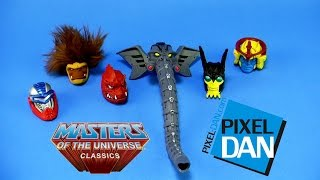 getlinkyoutube.com-Masters of the Universe Classics Heads of Eternia Pack Video Review