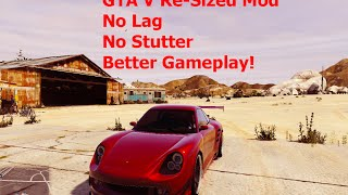 getlinkyoutube.com-GTA V Re-Sized Mod - Increase FPS, Smooth Gameplay & Fix Stuttering issue! [FPS Boost]