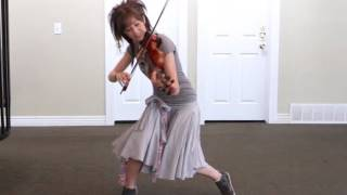 getlinkyoutube.com-Party Rock Anthem -Violinists can shuffle too