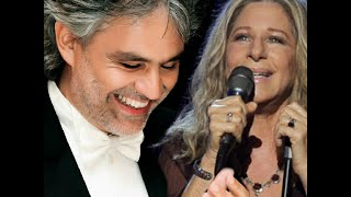 "getlinkyoutube.com-Barbra Streisand with Andrea Bocelli  ""I Still Can See Your Face"""