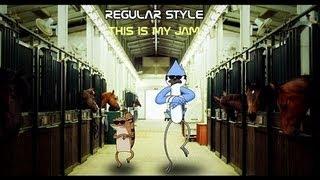 Regular show Gangnam style cool edit