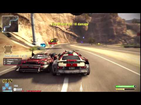 Twisted Metal PS3 Gameplay - Desert Twisted Race - Diablo Pass