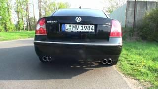 getlinkyoutube.com-VW Passat W8 - Tuning + Sound