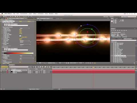 Complex Lens Flare Effects in Minutes