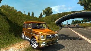 ETS2 - Mercedes G Class - Logitech G27 (Euro Truck Simulator 2)