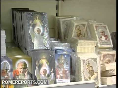 Rome full of souvenirs of Pope John Paul II