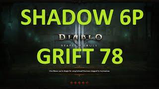 getlinkyoutube.com-Diablo 3 - GR78 PTR 2.4: DH Dec/07 Impale Shadow 6p Set (No FoK)