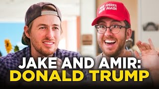 getlinkyoutube.com-Jake and Amir: Donald Trump