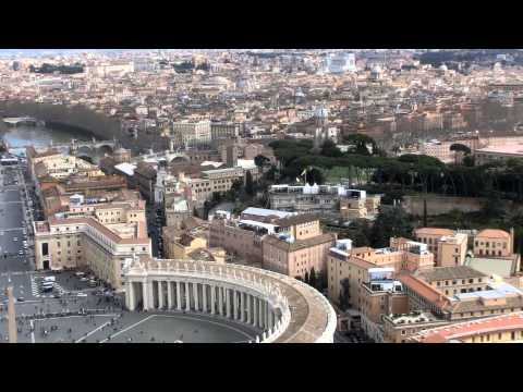 Vatican tourists's bird view  8