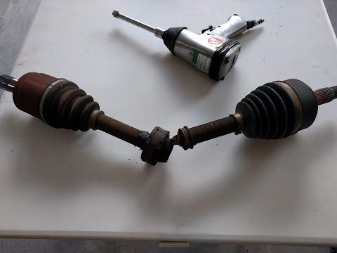 Replacing Front Axle of 2004 Acura TL