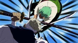 getlinkyoutube.com-One Piece AMV Zoro vs Ryuma (Skillet, Hero) [HD]
