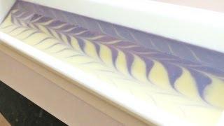 getlinkyoutube.com-Making Lavender Cold Process Soap ~ Petals Bath Boutique