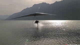 getlinkyoutube.com-Freestyle Hang Gliding 150km/hr Water Touch | Extreme Diaries with Flo Orley, Ep. 2