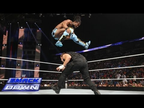 Kofi Kingston vs. Dean Ambrose - United States Championship: SmackDown, May 24, 2013