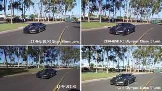 getlinkyoutube.com-DJI Inspire 1 Pro Features & Zenmuse X5, X3, Panasonic GH4 4K RAW Footage Comparison