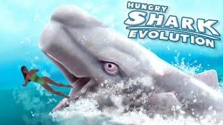 getlinkyoutube.com-NEW SHARK MOBY DICK!!    Hungry Shark Evolution - Ep 26 HD
