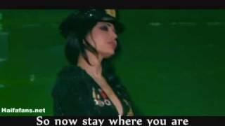 "getlinkyoutube.com-Haifa Wehbe ""Enta Tani"" Star Academy, English subtitles هيفاء وهبى أنت تاني"