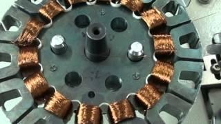 getlinkyoutube.com-SPARK CONTROLS, Autoamtaic Ceiling fan winding machine (Dual Head)  CF-10