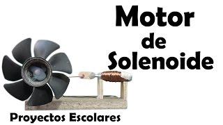 getlinkyoutube.com-Como Hacer un Motor de Solenoide - Muy fácil de hacer