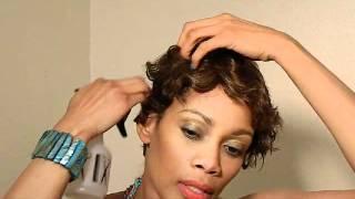 getlinkyoutube.com-CAREFREE H/H ELIZA like MOMMY Marilyn MIMI HARLEM BeLinda WIG by Carefree Human Hair