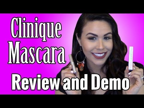Clinique Mascara Review, Demo, and Tutorial 2014