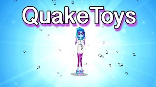 getlinkyoutube.com-New Equestria Girls App My Little Pony Canterlot High Laptop MLP Zapcode Scan DJ Pon3 Minigame