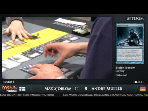 Pro Tour Dragon's Maze - Day 1 Round 1