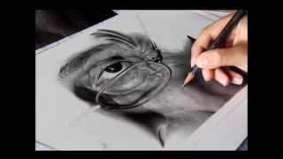 getlinkyoutube.com-Drawing Pencil   Hyperrealism   Silvia Pagano Art
