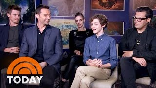 getlinkyoutube.com-'Pan' Cast Talk New Film And Childhood Snacks | TODAY