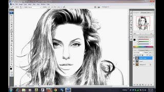 getlinkyoutube.com-photoshop Tutorial - How to make sketch using image