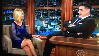 getlinkyoutube.com-Carrie Keagan's see thru outfit on The Craig Ferguson Show